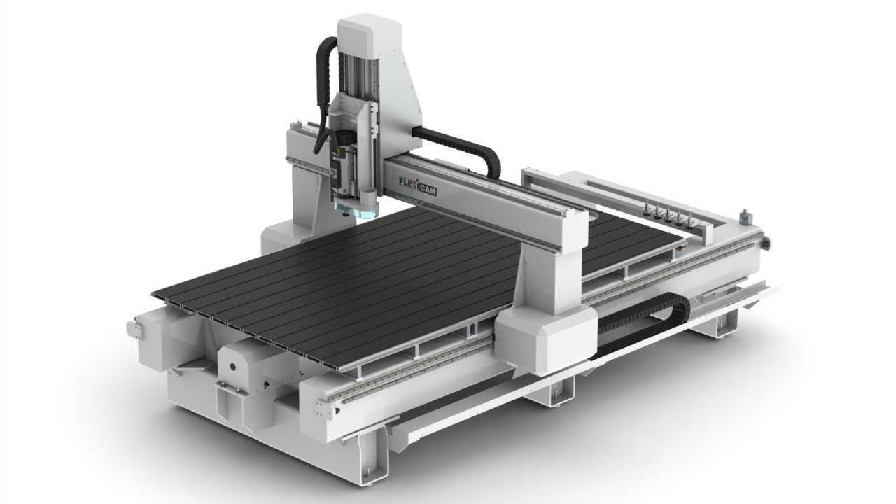 FlexiCAM Gator Table(HD)