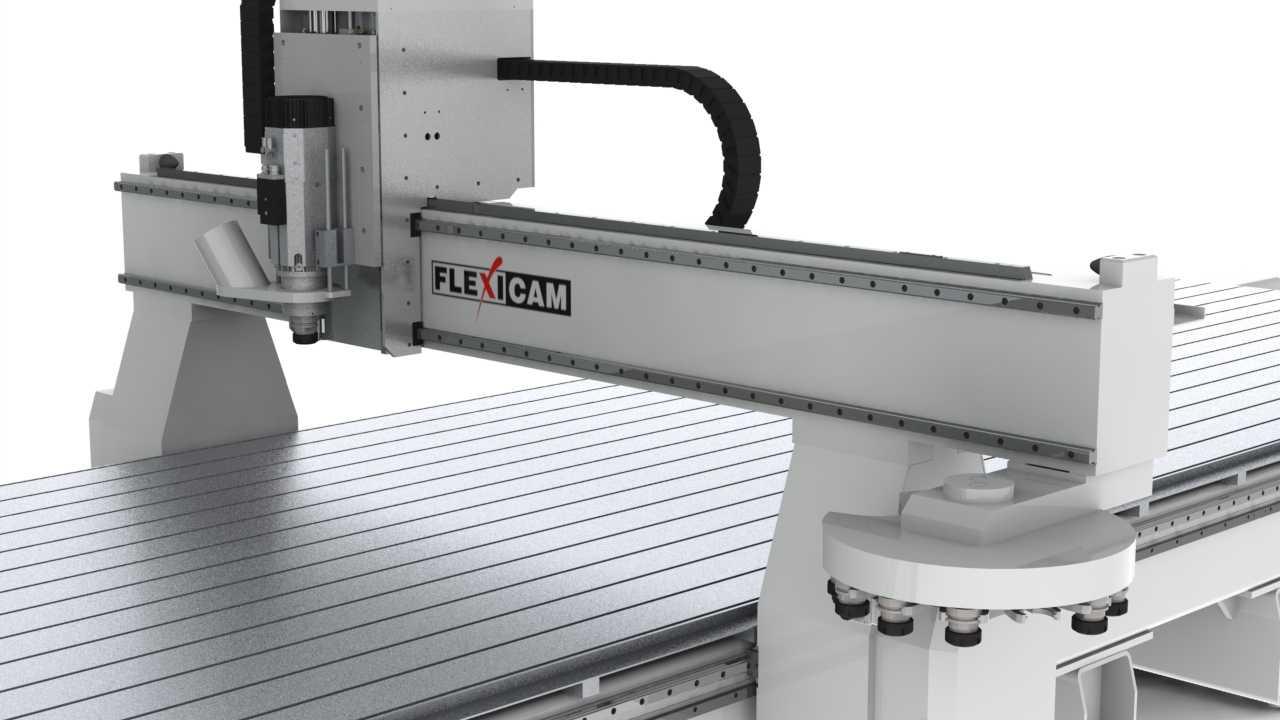 FlexiCAM XL 20100 RTC Gantry Closup (HD)