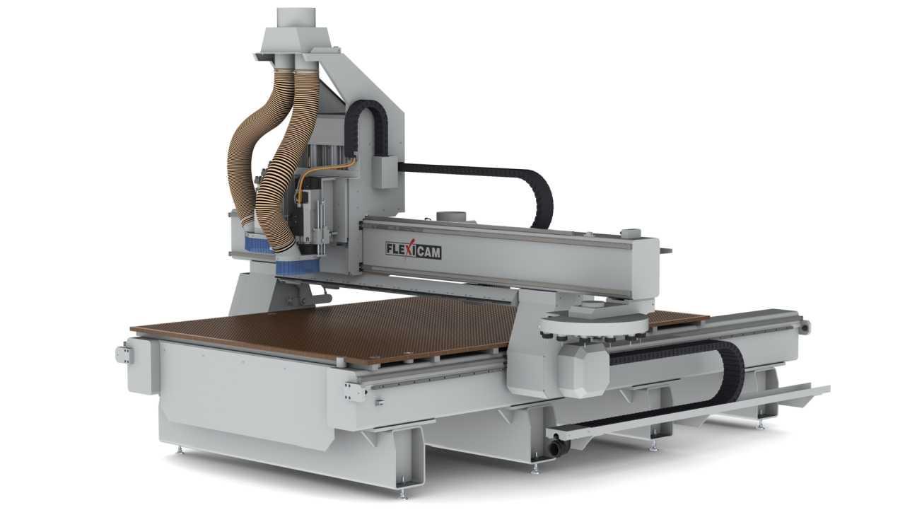 FlexiCAM XL 2040 RTC, Boring Block, Sweeper (HD)