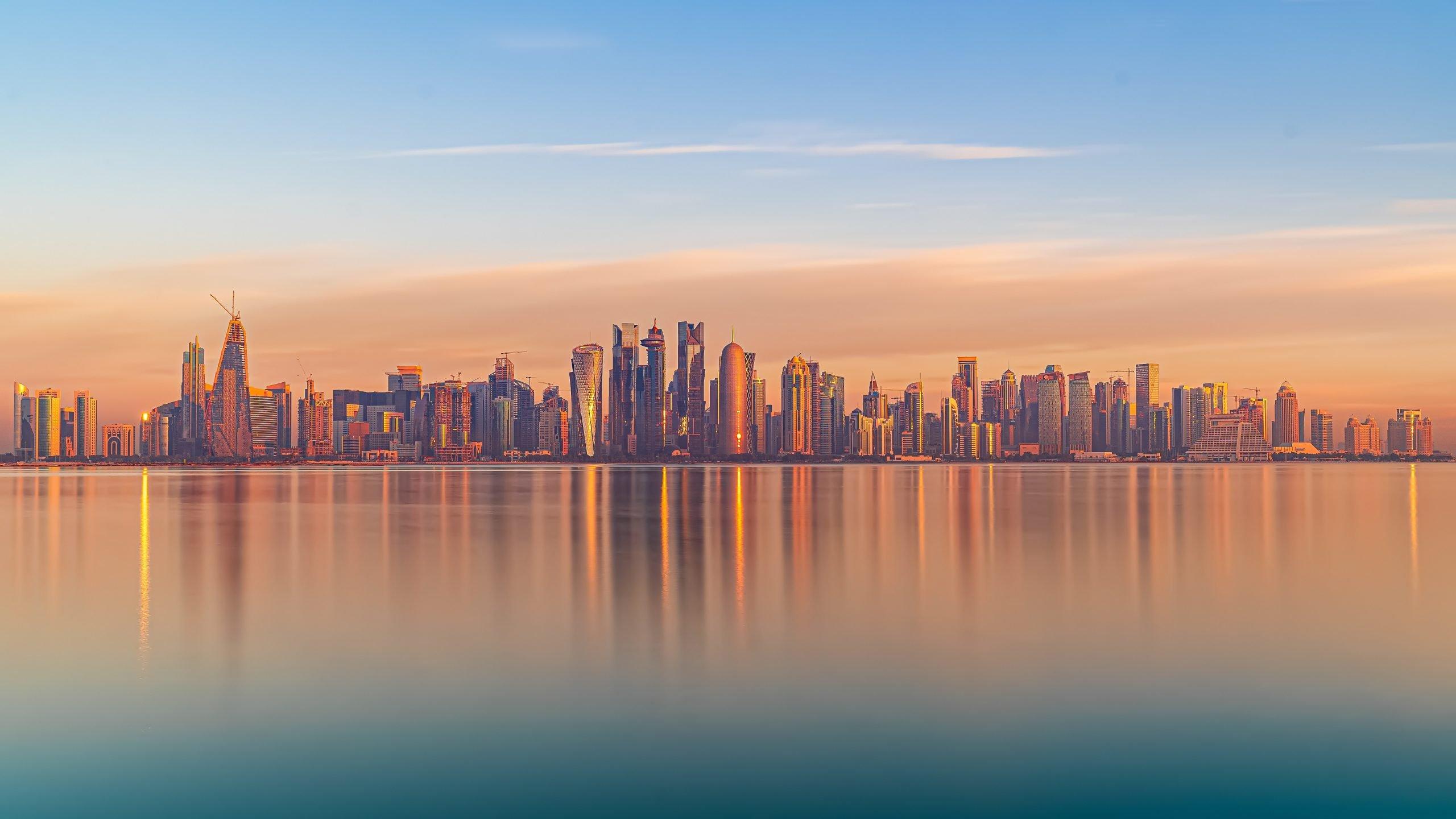 skyline qatar